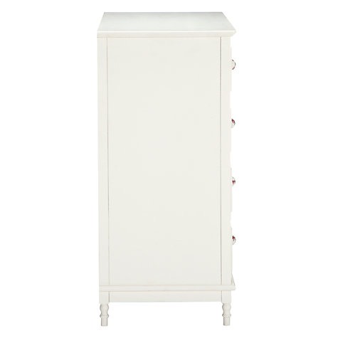 Buy little home at John Lewis Victoria 5 Drawer Chest, White Online at johnlewis.com