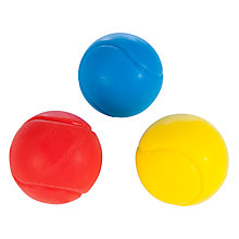 Buy John Lewis Soft Balls, Pack of 3 Online at johnlewis.com
