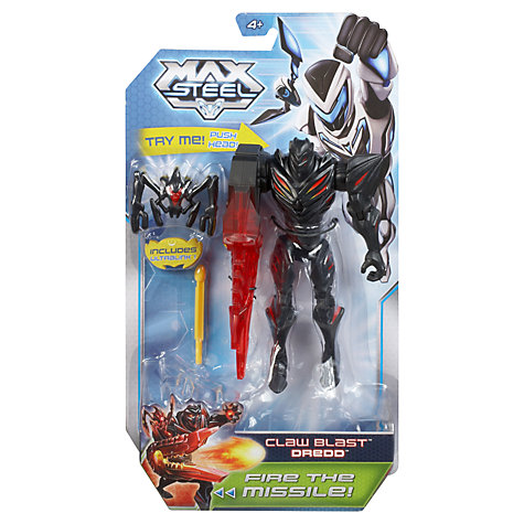 Buy Mattel Max Steel Basic Action Figure, Assorted Online at johnlewis.com