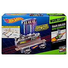 Buy Hot Wheels Workshop Track Builder Speedometer Online at johnlewis.com