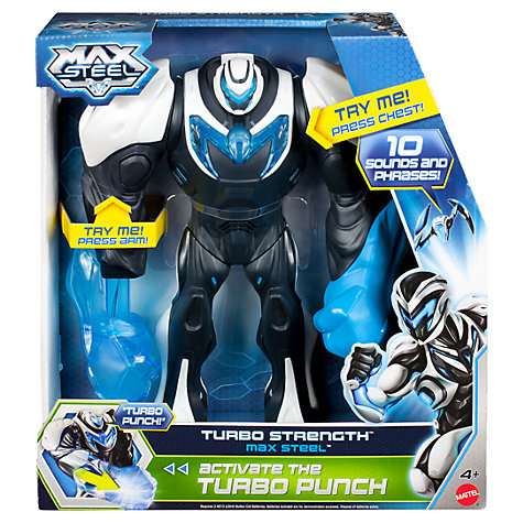 Buy Mattel Max Steel Strength Suit Figure Online at johnlewis.com