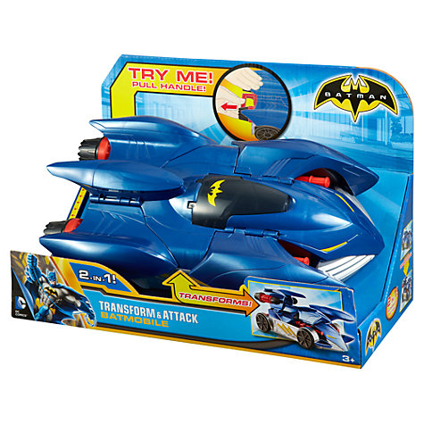 Buy Batman 4-inch Batmobile Online at johnlewis.com
