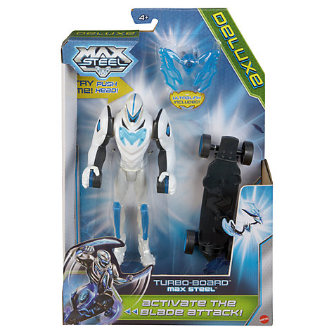Buy Mattel Max Steel Deluxe Action Figures, Assorted Online at johnlewis.com