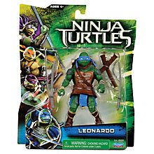 Buy Teenage Mutant Ninja Turtles Movie Basic Action Figure, Assorted Online at johnlewis.com