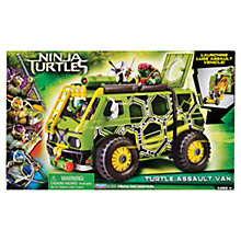 Buy Teenage Mutant Ninja Turtles Assault Van Online at johnlewis.com