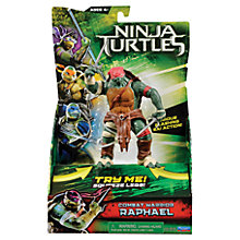 Buy Teenage Mutant Ninja Turtles Combat Warrior Deluxe Movie Figures, Assorted Online at johnlewis.com