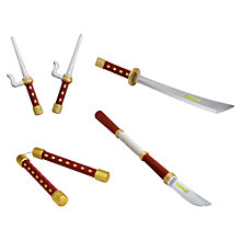 Buy Teenage Mutant Ninja Turtles Dojo Soft Foam Weapon, Assorted Online at johnlewis.com