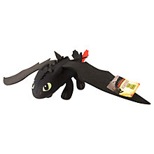 Buy How To Train Your Dragon 2: Toothless Plush Toy Online at johnlewis.com