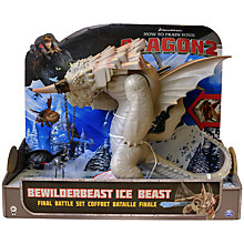 Buy How To Train Your Dragon 2: Bewilderbeast Ice Beast Final Battle Set Online at johnlewis.com