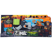 Buy Nerf Zombie Strike Sledgefire Blaster Online at johnlewis.com