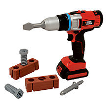 Buy Black & Decker Toy Screwdriver Set Online at johnlewis.com
