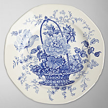 Buy Burleigh Charlotte Side Plate, Dia.19cm Online at johnlewis.com