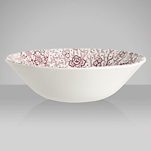 Buy Burleigh Claremont Cereal Bowl, Dia.16cm Online at johnlewis.com