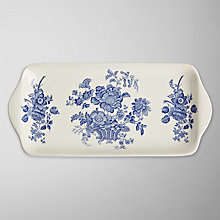Buy Burleigh Charlotte Sandwich Plate Online at johnlewis.com