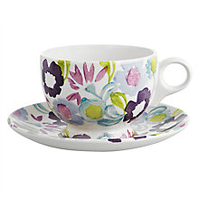 Buy Emma Bridgewater Daisy Chain Breakfast Cup & Saucer Online at johnlewis.com