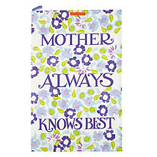 Buy Emma Bridgewater Daisy Chain Tea Towel Online at johnlewis.com