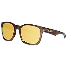 Buy Oakley OO9175  917519 Garage Rock Square Frame Polarised Sunglasses, Tortoiseshell/Yellow Online at johnlewis.com