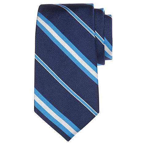 Buy Lauren by Ralph Lauren Stripe Silk Tie Online at johnlewis.com