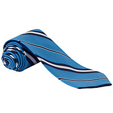Buy Ralph by Ralph Lauren Stripe Silk Tie, Navy Online at johnlewis.com