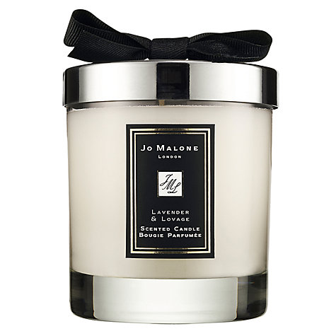 Buy Jo Malone London Lavender & Lovage Scented Candle, 200g Online at johnlewis.com