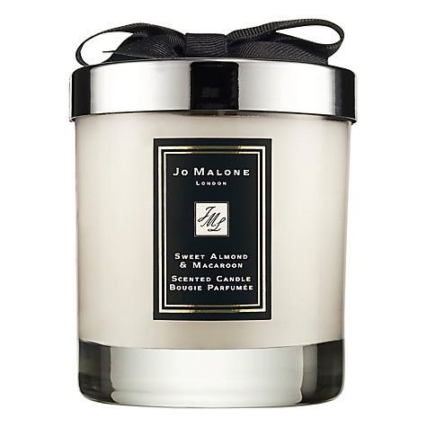 Buy Jo Malone Sweet Almond & Macaroon Scented Candle, 200g Online at johnlewis.com