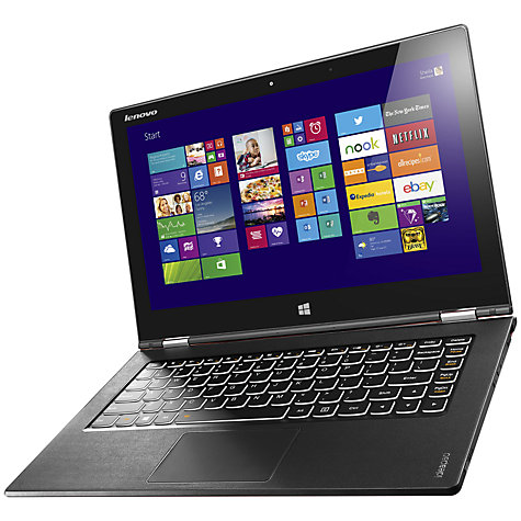 Buy Lenovo IdeaPad Yoga 2 Pro Convertible Ultrabook, Intel Core i5, 4GB RAM, 256GB SSD, 13.3