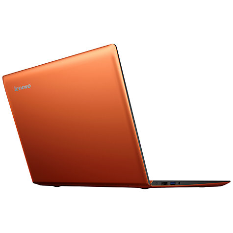 "Buy Lenovo IdeaPad U330 Touch Ultrabook, Intel Core i7, 4GB RAM, 500GB + 8GB SSD, 13.3"" Touch Screen, Orange Online at johnlewis.com"