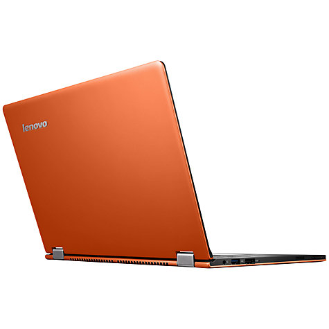 "Buy Lenovo IdeaPad Yoga 11S Convertible Ultrabook, Intel Core i3, 4GB RAM, 128GB SSD, 11.6"" Touch Screen, Orange Online at johnlewis.com"