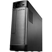 Buy Lenovo H535s Desktop PC, AMD A10, 6GB RAM, 1TB, Black & Silver  + Microsoft Office 365 Personal Online at johnlewis.com