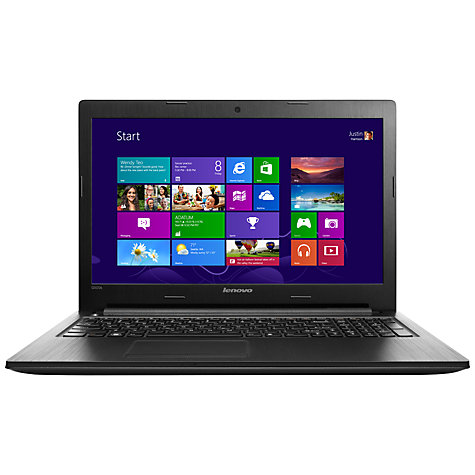 "Buy Lenovo G505s Laptop, AMD A8, 4GB RAM, 1TB, 15.6"", Black Online at johnlewis.com"
