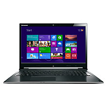 "Buy Lenovo IdeaPad Flex 15 Dual-Mode Laptop, Intel Pentium, 4GB RAM, 500GB, 15.6"" Touch Screen, Black & Silver Online at johnlewis.com"