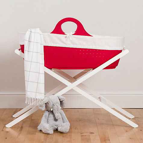 Buy Moba Moses Basket and Mattress Online at johnlewis.com