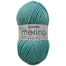 Buy Wendy Merino 4 Ply Yarn, 50g Online at johnlewis.com