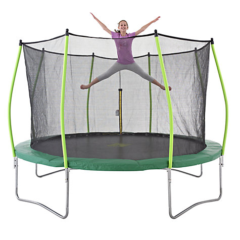 Buy TP Toys Zoomee Trampoline, 12ft Online at johnlewis.com