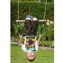 Buy TP922 Wooden Trapeze Bar & Rings Online at johnlewis.com