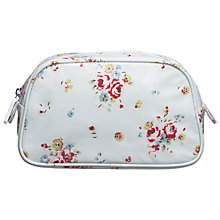 Buy Cath Kidston Notting Hill Cosmetics Bag, White Rose Online at johnlewis.com
