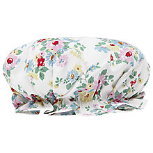 Buy Cath Kidston Daisies Bath Hat, White Online at johnlewis.com