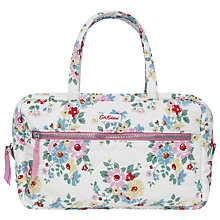 Buy Cath Kidston Bright Daisies Large Quilted Makeup Bag, White Online at johnlewis.com