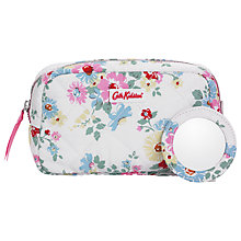 Buy Cath Kidston Bright Daisies Quilted Makeup Bag, White Online at johnlewis.com