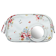 Buy Cath Kidston Notting Hill Make-Up Bag, White Rose Online at johnlewis.com