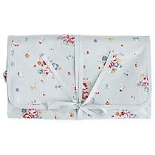 Buy Cath Kidston Notting Hill Wash Bag, White Rose Online at johnlewis.com