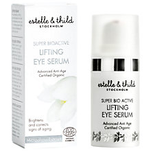 Buy Estelle & Thild Super BioActive Lifting Eye Serum, 15ml Online at johnlewis.com