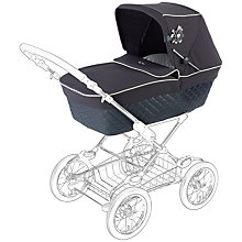 Buy Silvercross Sleepover Elegance Pram Body, Navy Online at johnlewis.com