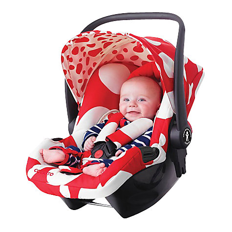 Buy Cosatto Giggle Hold Car Seat, Red Bubble Online at johnlewis.com
