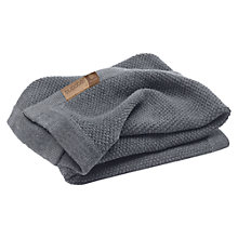 Buy Bugaboo Wool Blanket, Grey Melange Online at johnlewis.com