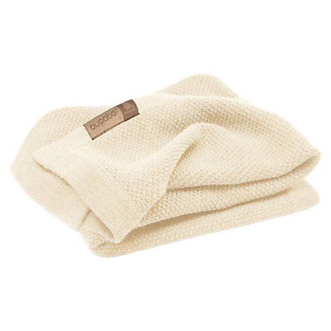 Buy Bugaboo Wool Blanket, Grey Ivory Online at johnlewis.com