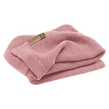 Buy Bugaboo Wool Blanket, Rose Online at johnlewis.com