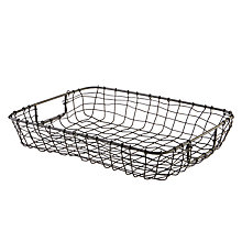 Buy Design Ideas Cabo Letter Basket Online at johnlewis.com