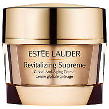 Buy Estée Lauder Revitalizing Supreme Global Anti-Aging Creme, 30ml and Advanced Night Repair Synchronized Recovery Complex II, 30ml with FREE Gloss Favourites Gift Set Online at johnlewis.com