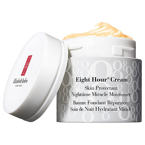 Buy Elizabeth Arden NEW Eight Hour® Exclusive Nighttime Miracle Moisturiser, 50ml Online at johnlewis.com